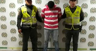 Luis Fernando Carrillo, capturado en la vía Ciénaga - Santa Marta