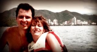 Judith Brassard y Felipe Rojas vivieron más de 10 años juntos en Santa Marta.
