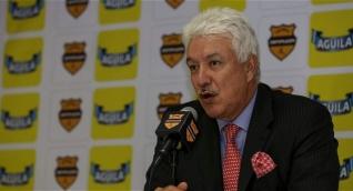 Jorge Perdomo, presidente destituido de la Dimayor.
