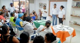 Capacitaciones brindadas a personas de zonas vulnerables del departamento.