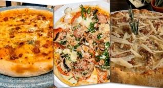 Pizzas concursantes en la ciudad de Santa Marta.