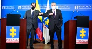 La Fiscalía General de la Nación suscribió un acuerdo con el gobierno de los Estados Unidos.