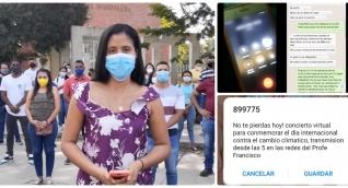 Denuncia hecha por estudiantes de la Universidad del Magdalena.
