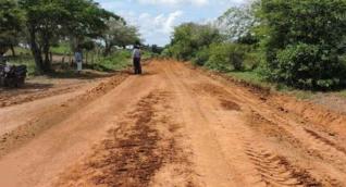 Por este camino, que comunica a Caño de Palma con Menchiquejo, tuvieron que llevar a la víctima antes de que muriera.