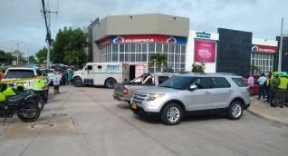 El hecho ocurrió en el supermercado Olímpica de Villa Campestre, en Puerto Colombia.