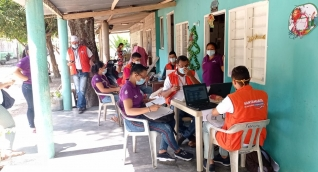 Entrega de incentivos del programa Familias en Acción