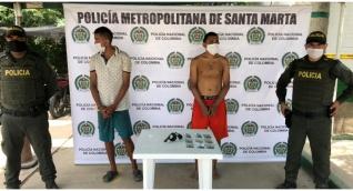 Los sujetos fueron identificados como Oscar de Jesús Mulford Giraldo y Oscar Balahan Mulford Giraldo.