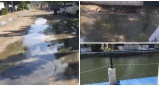 Sigue la afectación ambiental en Lagos del Dulcino.
