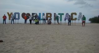 Playa del sector de Buritaca lista para atender a sus visitantes.