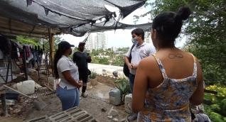 Operativos en los Cerros de Santa Marta.