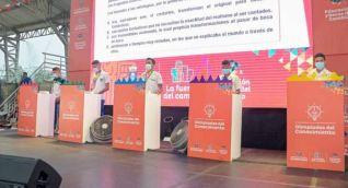 Semifinal del evento.