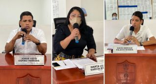 Concejales designados para inspeccionar condiciones de los colegios.
