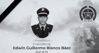 Intendente asesinado en el enfrentamiento que permitió la captura del delincuente.