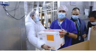 En total han arribado a Colombia 192.000 dosis de Sinovac.