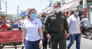 Alcaldía y Policía Metropolitana articularon acciones de seguridad.