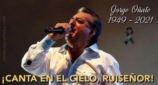 Jorge Oñate, el jilguero de América. QEPD