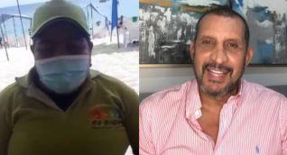 Andrea Franco y Fernando Solórzano.