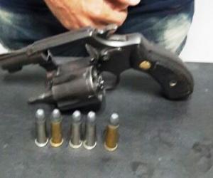 Captura por porte ilegal de arma