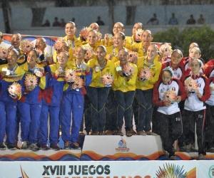La delegación Colombiana sigue liderando la tabla de medallería.