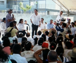 El Alcalde de Barranquilla, Alejandro Char