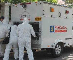 Las autoridades investigan las causas de la muerte de Nelson Vásquez. Foto de contexto