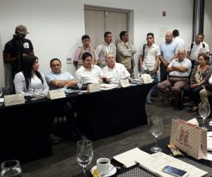 La sesión descentralizada se llevó a cabo este viernes en el hotel Best Western, en Santa Marta.