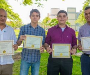 Carlos Milton Fonseca Lidueña y Jaime Bernal, docentes y tutores del proyecto presentado en el Sistema Interamericano de Derechos Humanos.