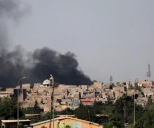 Las fuerzas iraquíes, apoyadas por la aviación del Ejército, lanzaron un contraataque y recuperaron el dominio de Al Masihi.