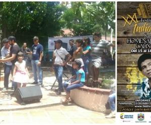 Todo listo para que comience el Festival Vallenato Indio Tayrona 2017.