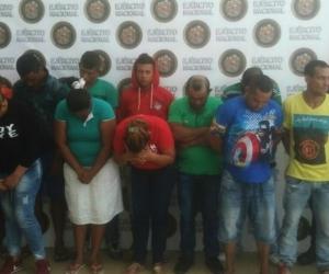 Según las autoridades era una estructura liderada por los hermanos Borré y Víctor Pérez De Alba, desde la cárcel.