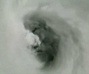 Cara del huracán Irma