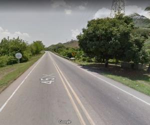 Vía río Ariguaní - Ye de Ciénaga. Referencia.