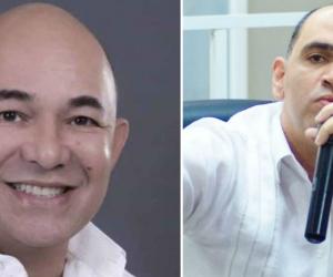 Concejal Juan Ruiz (Izq) y Concejal Carlos Pinedo (Der).