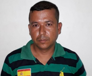 Néstor Javier Esteban Jaimes, alias 'El Tío'.