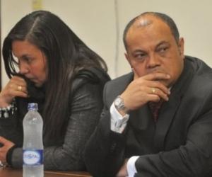 Oneida Escobar y Luis Colmenares.