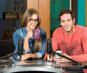 Alejandra Buitrago y Lucas Buelvas