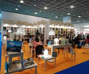 Personas de diferentes partes del mundo conocieron del talento Unimagdalena a través de los libros, textos y revistas presentados en la Feria de Frankfurt.