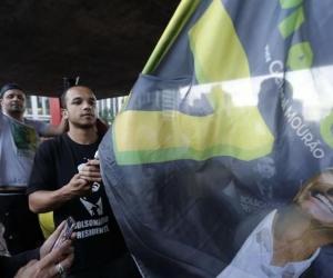 Simpatizantes de Jair Bolsonaro.