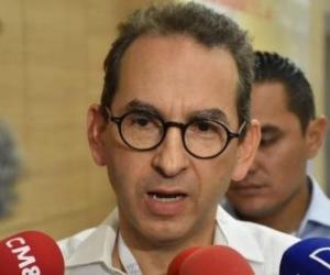 Andrés Valencia Pinzón, Ministro de Agricultura.