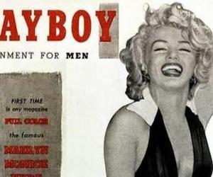 Portada de la revista Playboy con Marilyn Monroe.