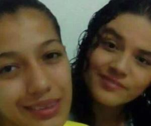 María Isabel Traslaviña González, madre del pequeño de 5 años, y Gina Alejandra Serrato León,