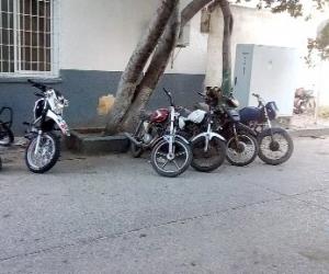 Las motos fueron llevadas al CAI de Mamatoco para ser verificada y dar con sus dueños.