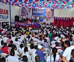 Apoyo a la campaña de Fabián Castillo y Carlos Mario Farelo en Ariguaní.