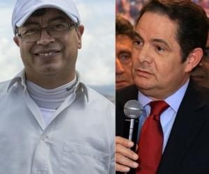 Gustavo Petro y Vargas Lleras.