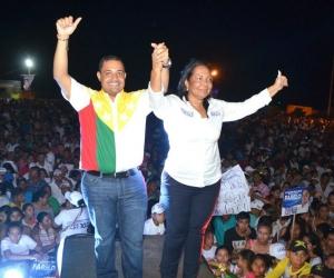 El aspirante a la Cámara de Representantes por el partido Cambio Radical, Carlos Mario Farelo.
