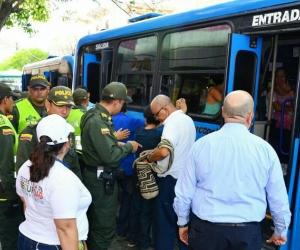 Toma de la Fuerza Pública en Santa Marta, por la inseguridad que azota a la ciudad.