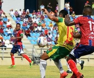 Los bananeros le ganaron este sábado en el Estadio Sierra Nevada al Real Cartagena. Con un marcador 2x0.