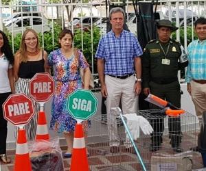 Este plan se realiza para mitigar el tráfico ilegal de especies.