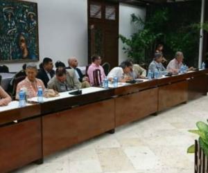 Instalación de la mesa de negociación con el ELN.