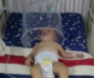 La bebé de ocho meses está en observación en la clínica Mar Caribe